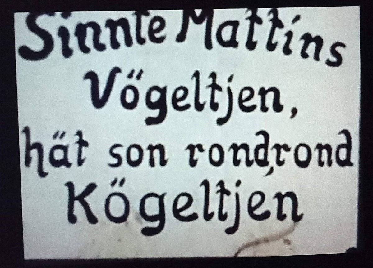 Schild Sinnte Mattins